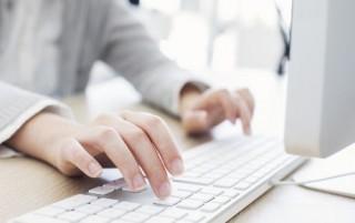 white-keyboard-typing